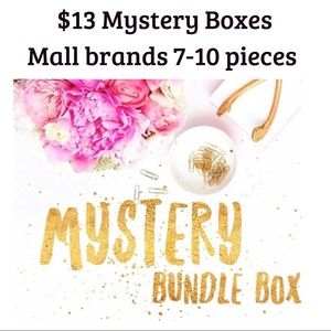 Other - Mystery Box Men's shirts mall brands
